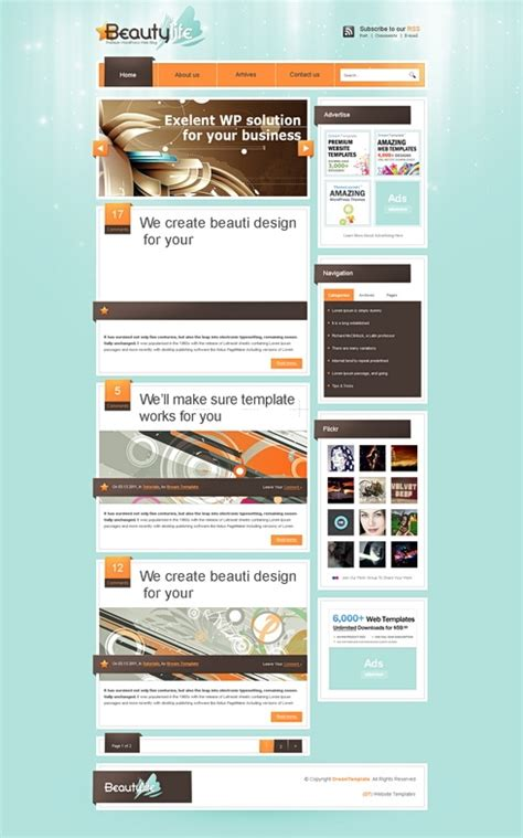liferay templates free liferay css template style website templates