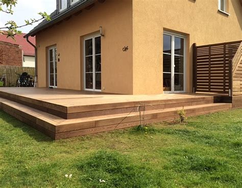 terrasse mit stufen terrasse mit stufe terrasse mit stufe fr terrasse stufen