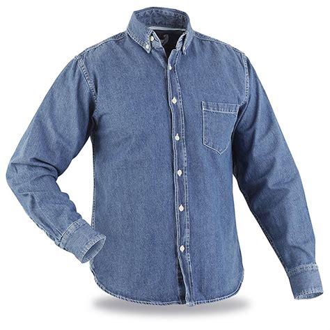 Pocket Denim Shirt george martha sleeved 1 pocket denim shirt 627219