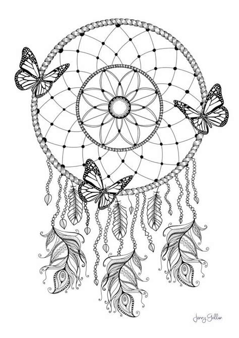 coloring pages of dream catchers dream catcher coloring pg colouring pages pinterest
