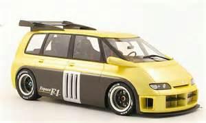 Renault Espace F1 Renault Espace F1 Beige Ottomobile Diecast Model Car 1 18
