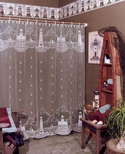 lighthouse lace curtains 1000 images about lace shower curtains on pinterest