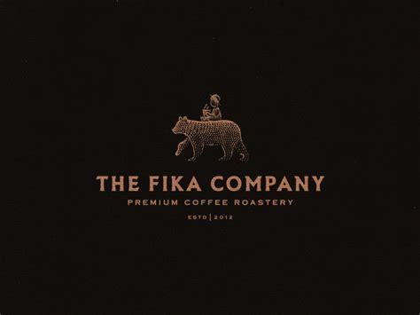 fika company premium coffee roastery branding