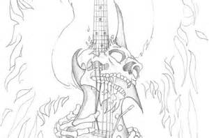 File name cool guitar tattoos skull guitar tattoo by gaaradeviant on