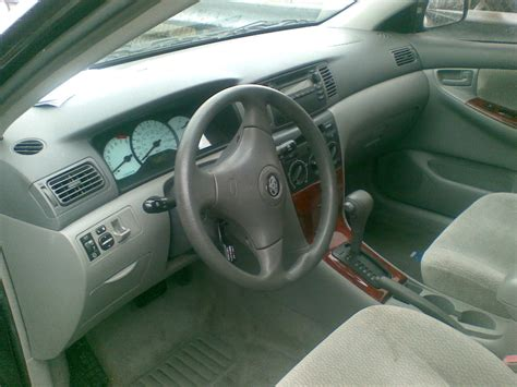 Corolla 2003 Interior by Toyota Corolla 2003 For Sale Asking 1 65m Autos Nigeria