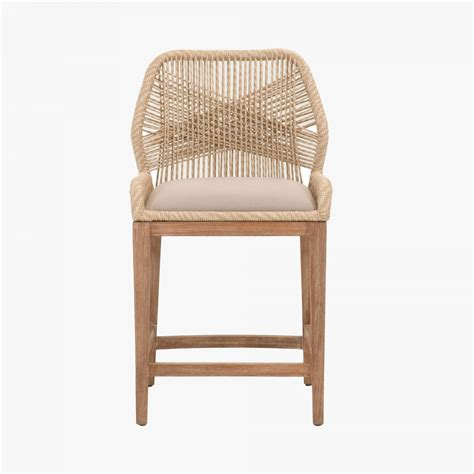 Woven Counter Height Stools by Luca Sand Woven Counter Stool Shop Bar And Counter