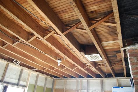 st floor exposed ceiling joists soundproofing