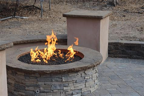 custom firepit midwest outdoor concepts finished outdoor kitchens