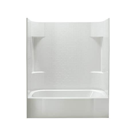 sterling bathtub shop sterling accord white fiberglass plastic composite