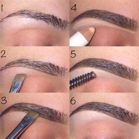 eyebrows shaping tutorial femface net