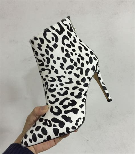 buy wholesale leopard print boots from china popular leopard print booties buy cheap leopard print