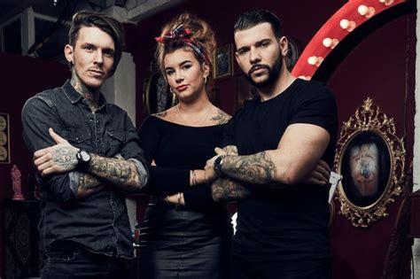tattoo fixers alice and jay tattooist jay hutton inks alton towers rollercoaster crash