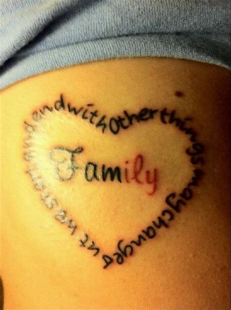 family love tattoos for family symbol tattoos