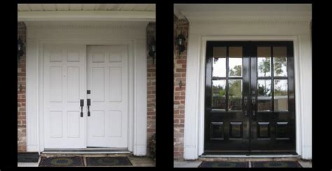 front door before and after before and after exles from doors of elegance
