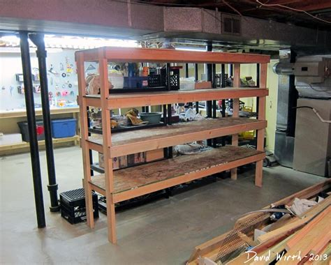 how to build a storage cabinet wood storage shelf for the basement