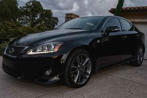 black lexus ca 2011 lexus is350 f sport obsidian black 32k nav