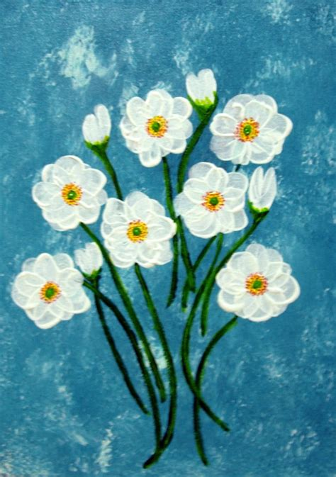 acrylic painting floral acrylic flower painting search painting