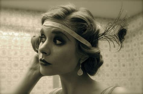 roaring twenties long hair style the roaring twenties hairstyles ideas