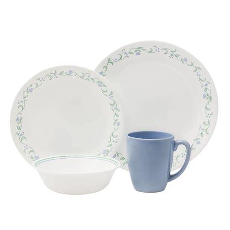 corelle livingware 16 dinnerware set country cottage