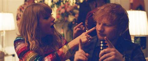 ed sheeran end game 1st look at taylor swift s new end game video with