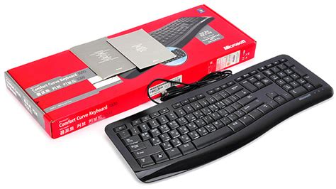 comfort curve keyboard 3000 review 노트포럼 리뷰 microsoft comfort curve keyboard 3000