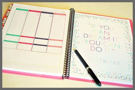build your own planner frugal crafty home blog hop