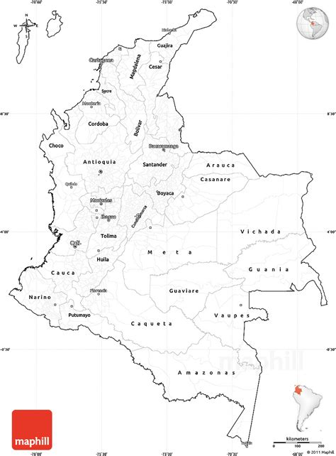 colombia map coloring page color map of colombia pictures to pin on pinterest pinsdaddy
