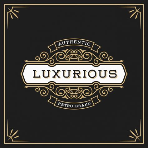 Luxury Logo Template Vector Free Download Luxury Template
