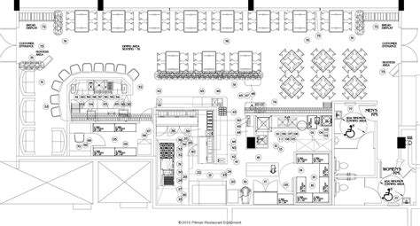 commercial steak house kitchens layout search