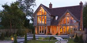 Farmhouse Houseplans living in an oak frame home self build co uk