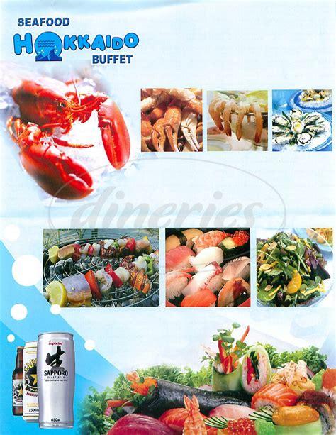 hokkaido seafood buffet menu newport beach dineries