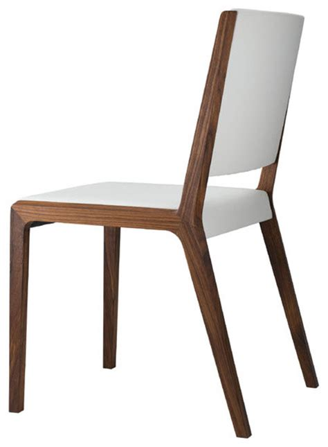 Modern Wood Dining Chair Eviva Chair Modern Dining Chairs Other Metro By Modernpalette