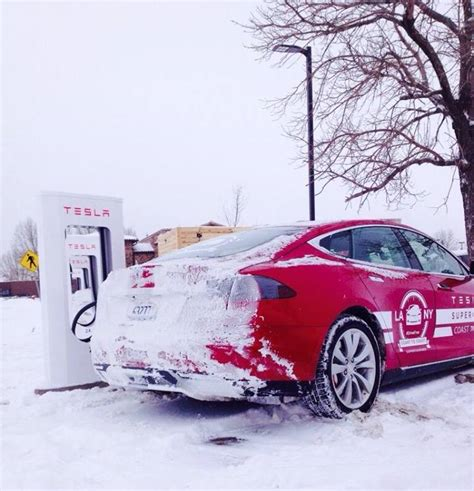 What Country Makes Tesla Electric Vehicles Tesla Makes History With Cross Country