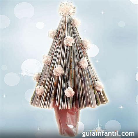 arboles de navidad hechos con revistas manualidad de 225 rbol de navidad con papel de revista