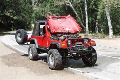 cool jeep tj 2001 jeep wrangler tj radiator install two hour cool