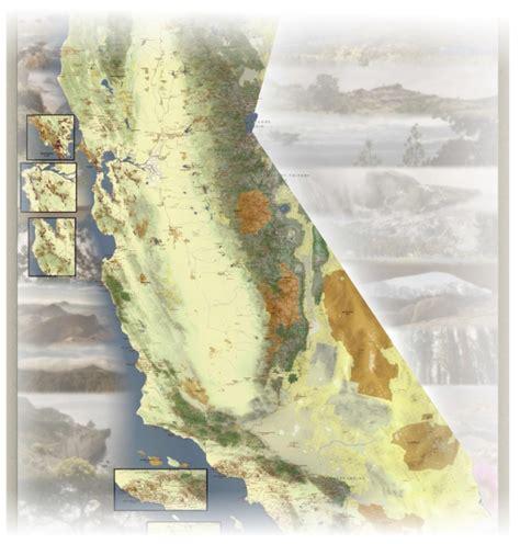 california hiking map kickstarter kickstart the california hiking map