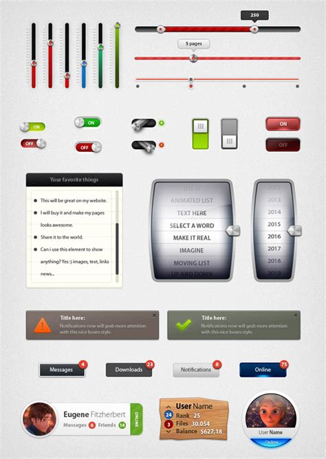 ui composition pattern 9 psd ui web design elements images ui web design search