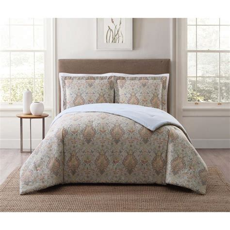 full xl comforter sets style 212 cambridge ivory multi full and queen xl