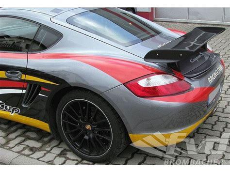 Porsche Cayman Rear Wing by Porsche Cayman S Rear Wing Results