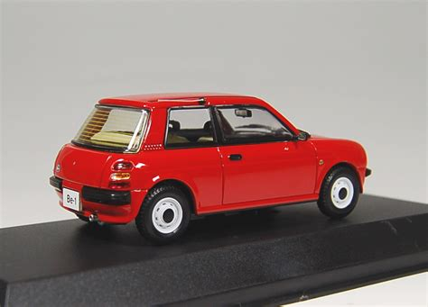 nissan be 1 nissan be 1 steel roof トマトレッド ミニカー 商品画像3