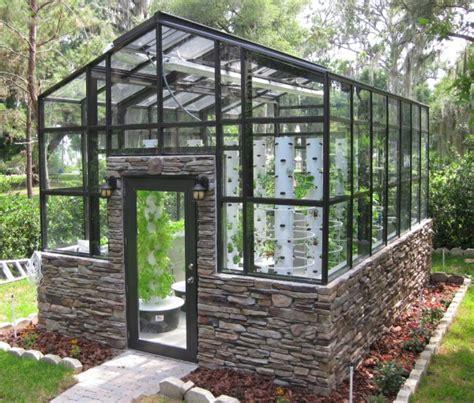 backyard green houses creative greenhouse ideas outdoortheme com
