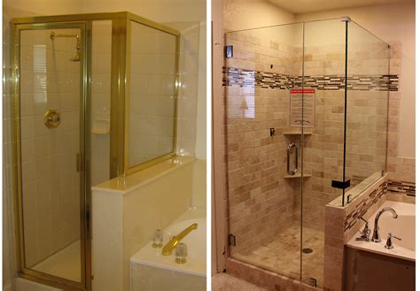 Before And After Shower master bathroom update the shower is done the six fix