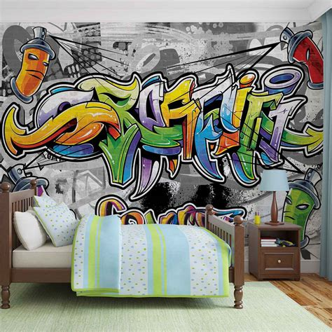 cheap graffiti wallpaper uk graffiti street art wall mural photo wallpaper 2295dk