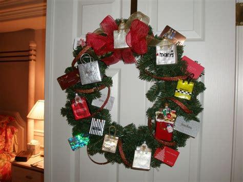 Gift Card Wreath - gift card wreath school ideas room mom coach pinterest
