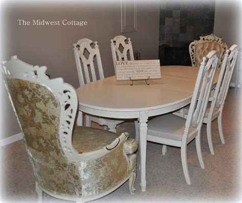 painted dining room set custom painted dining room set in creamy white