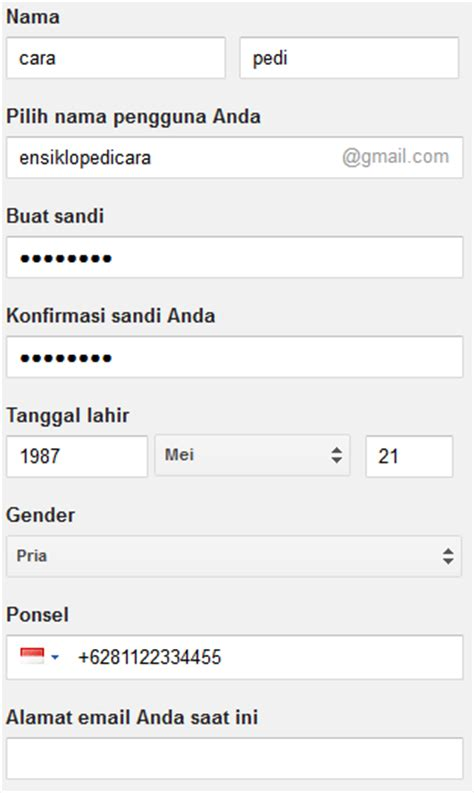 cara membuat email baru buat facebook 3 langkah cara membuat email baru di gmail atau google