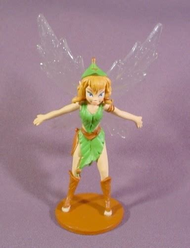 Figure Tinkerbell disney beck figure on base tinkerbell s pixie hollow 4 1 4 quot rons rescued treasures