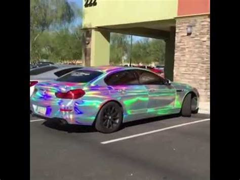 Folie Neo Chrome by Rainbow Color Wrap By T Wrap In Az Youtube