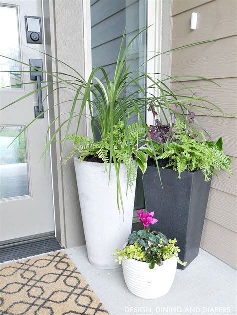 front porch planter ideas porch planters and front porches
