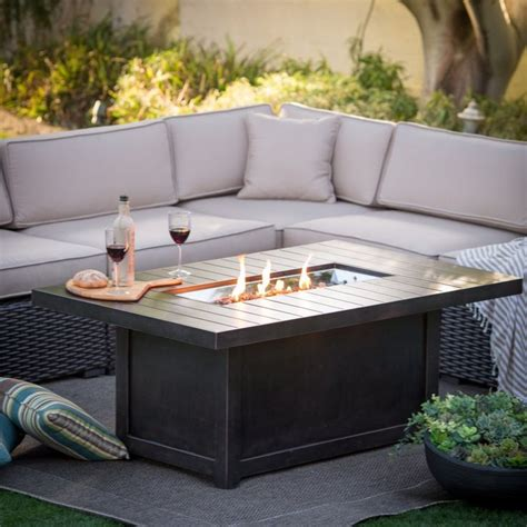 best gas pit tables best 25 propane pit table ideas on